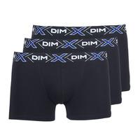 Lenjerie intimă Bărbați Boxeri DIM X-TEMP BOXER x3 Negru