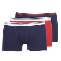 Lenjerie intimă Bărbați Boxeri DIM DAILY COLORS BOXER x3 Albastru / Roșu