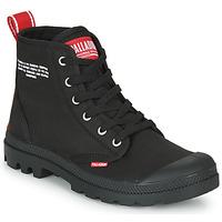 Pantofi Ghete Palladium PAMPA HI DU C Negru