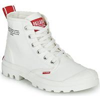 Pantofi Ghete Palladium PAMPA HI DU C Alb