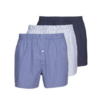 Lenjerie intimă Bărbați Boxeri Lacoste 7H3394-8X0 Alb / Albastru