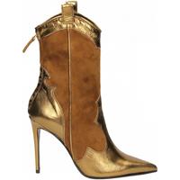 Pantofi Femei Botine Aldo Castagna BOHEMIA oro-tabacco