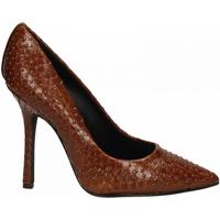 Pantofi Femei Pantofi cu toc Marc Ellis VIPERA CON BORCHIE BRONZO cuoio