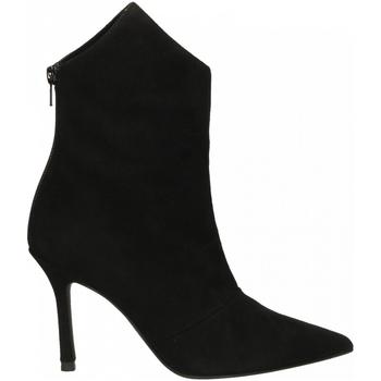 Pantofi Femei Botine Marc Ellis CAMOSCIO nero