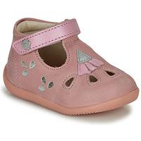 Pantofi Fete Sandale  Kickers BLUPINKY Roz / Argintiu