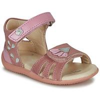 Pantofi Fete Sandale și Sandale cu talpă  joasă Kickers BICHETTA Roz
