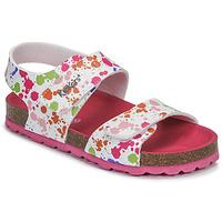 Pantofi Fete Sandale  Kickers SUMMERKRO Alb / Multicolor