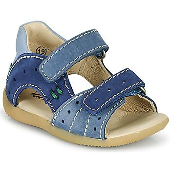 Pantofi Băieți Sandale  Kickers BOPING-3 Albastru