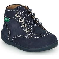 Pantofi Copii Ghete Kickers BONZIP-2 Bleumarin