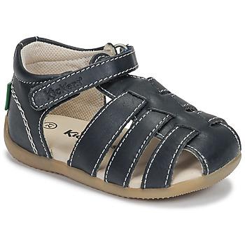 Pantofi Băieți Sandale  Kickers BIGFLO-3 Albastru
