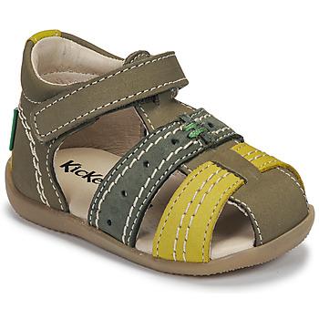 Pantofi Copii Sandale  Kickers BIGBAZAR-3 Verde