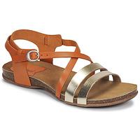 Pantofi Femei Sandale  Kickers ANATOMIUM Camel / Auriu