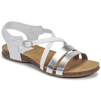 Pantofi Femei Sandale  Kickers ANATOMIUM Alb / Argintiu