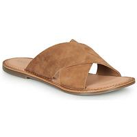 Pantofi Femei Papuci de vară Kickers DIAZ-2 Camel