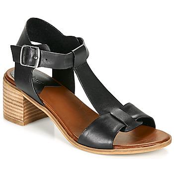 Pantofi Femei Sandale  Kickers VALMONS Negru