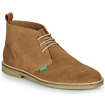 Pantofi Bărbați Ghete Kickers TYL Bej