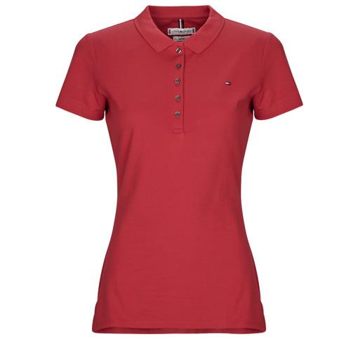 Îmbracaminte Femei Tricou Polo mânecă scurtă Tommy Hilfiger NEW CHIARA Roșu