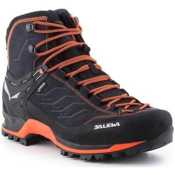 Pantofi Bărbați Drumetie și trekking Salewa MS Mtn Trainer Mid Gtx Negre
