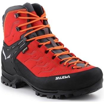 Pantofi Bărbați Drumetie și trekking Salewa MS Rapace Gtx Negre,Roșii