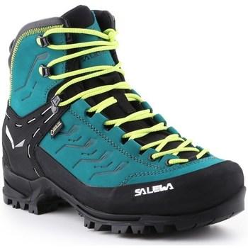 Pantofi Femei Drumetie și trekking Salewa WS Rapace Gtx Negre, De turcoaz