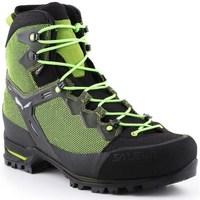 Pantofi Bărbați Drumetie și trekking Salewa MS Raven 3 Gtx Negre, Verde