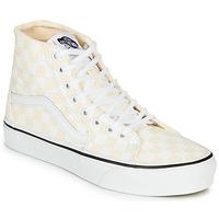 Pantofi Femei Pantofi sport stil gheata Vans SK8-HI TAPERED Roz / Alb