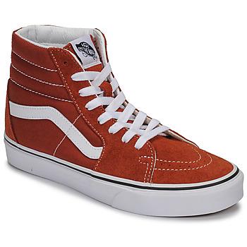 Pantofi Pantofi sport stil gheata Vans SK8-HI Maro ruginiu