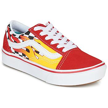 Pantofi Băieți Pantofi sport Casual Vans ComfyCush Old Skool Roșu / Galben