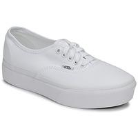 Pantofi Femei Pantofi sport Casual Vans AUTHENTIC PLATFORM 2.0 Alb