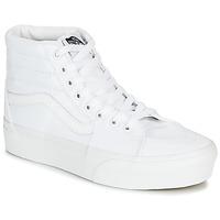 Pantofi Femei Pantofi sport stil gheata Vans SK8-HI PLATFORM 2.0 Alb