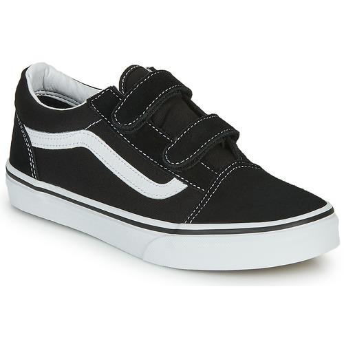 Pantofi Copii Pantofi sport Casual Vans OLD SKOOL V Negru / Alb