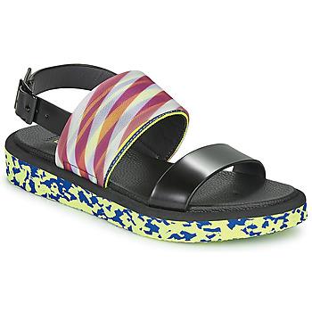 Pantofi Femei Sandale  United nude OP SANDAL LO Negru / Galben
