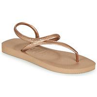 Pantofi Femei  Flip-Flops Havaianas FLASH URBAN Roz / Auriu