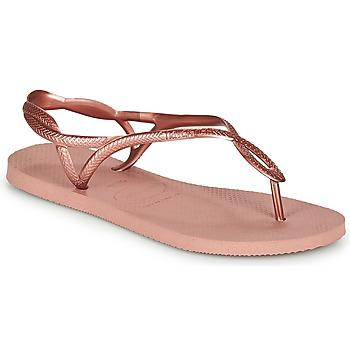 Pantofi Femei  Flip-Flops Havaianas LUNA Roz / Auriu