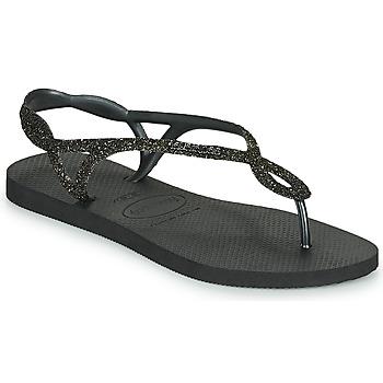 Pantofi Femei  Flip-Flops Havaianas LUNA PREMIUM Negru