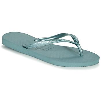 Pantofi Femei  Flip-Flops Havaianas SLIM Albastru