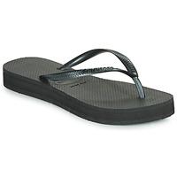 Pantofi Femei  Flip-Flops Havaianas SLIM FLATFORM Negru