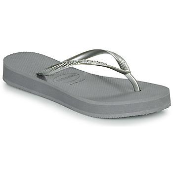 Pantofi Femei  Flip-Flops Havaianas SLIM FLATFORM Gri