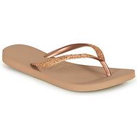 Pantofi Femei  Flip-Flops Havaianas SLIM GLITTER Roz / Gold