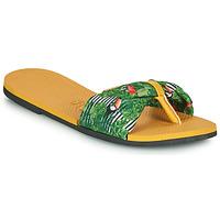 Pantofi Femei  Flip-Flops Havaianas YOU SAINT TROPEZ Galben / Verde