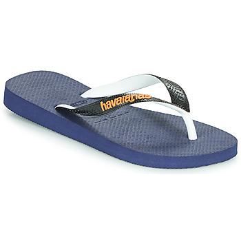 Pantofi  Flip-Flops Havaianas TOP MIX Bleumarin / Negru