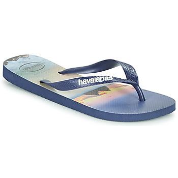 Pantofi Bărbați  Flip-Flops Havaianas HYPE Bleumarin