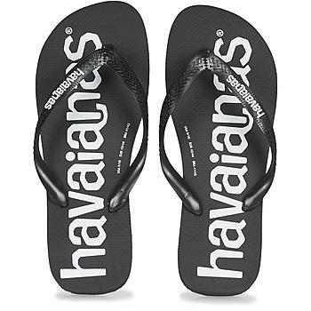 Pantofi Bărbați  Flip-Flops Havaianas TOP LOGOMANIA Black