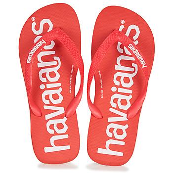 Pantofi Bărbați  Flip-Flops Havaianas TOP LOGOMANIA Roșu