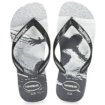 Pantofi Bărbați  Flip-Flops Havaianas TOP PHOTOPRINT Negru / Alb