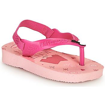 Pantofi Fete  Flip-Flops Havaianas BABY DISNEY CLASSICS II Roz