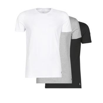 Îmbracaminte Bărbați Tricouri mânecă scurtă Polo Ralph Lauren WHITE/BLACK/ANDOVER HTHR pack de