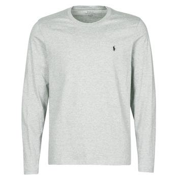 Îmbracaminte Bărbați Tricouri mânecă scurtă Polo Ralph Lauren L/S CREW-CREW-SLEEP TOP Gri