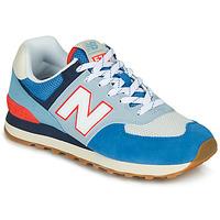 Pantofi Pantofi sport Casual New Balance 574 Blue / Grey / Portocaliu