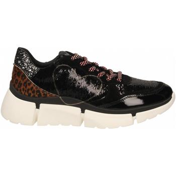 Pantofi Femei Pantofi sport Casual Nira Rubens STINGER RUNNING CUORE GLAM DARK nero-leopard